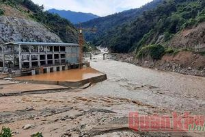 217 công nhân thủy điện tại Quảng Nam bị cô lập