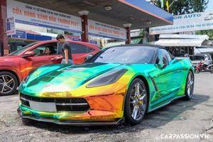 Chevrolet Corvette hơn 4 tỷ, độ 'tắc kè hoa' của dân chơi Sài Gòn