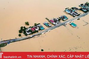 Bộ Y tế cử 7 tổ công tác đến Hà Tĩnh và 6 tỉnh miền Trung khắc phục hậu quả thiên tai