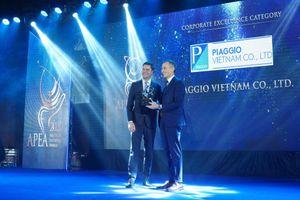 Piagio Việt Nam được vinh danh tại hai giải thưởng Châu Á 2020