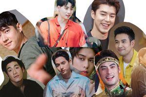 Top 10 diễn viên nam TV3 Thái Lan được theo dõi nhiều nhất trên Instagram