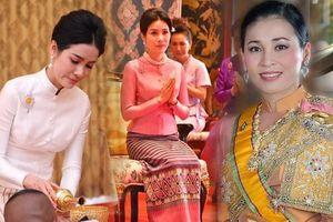 Hoàng quý phi Thái Lan phục chức, so kè nhan sắc 'một chín một mười' với Hoàng Hậu