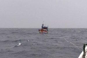 Đã cứu được 3 trong số 26 ngư dân trôi dạt trên biển