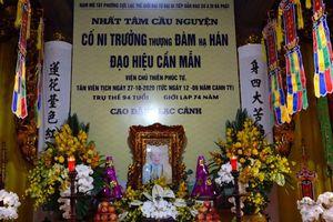 Hà Nội : Ni trưởng Thích Đàm Hán viên tịch