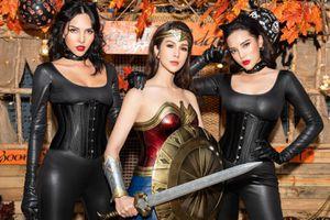 Sao Việt hóa trang trước dịp Halloween