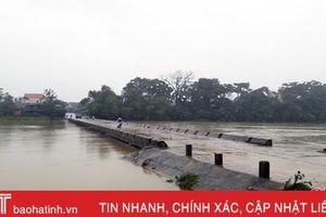 Diễn biến mới nhất về lũ trên các sông lớn ở Hà Tĩnh