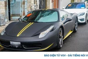 Cận cảnh Ferrari 458 Spider hàng hiếm tại Việt Nam