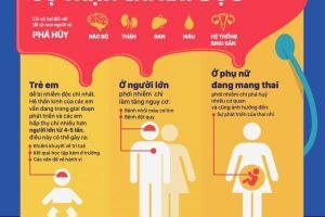 Cảnh báo nhiễm độc chì do sơn có thể gây teo não ở trẻ em