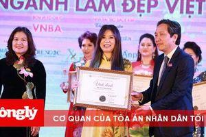 NTMT Minh Phương gây dấu ấn nổi bật tại cuộc thi 'VNBA-BEAUTY AWARDS 2020'