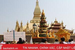 Quy mô nhỏ do dịch Covid-19, lễ hội Thạt Luổng Lào vẫn vẹn nguyên giá trị