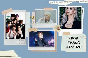 'Chảo lửa' Kpop tháng 11/2020: BTS không đối thủ, 2 cựu thành viên Wanna One chạm trán