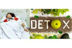 Cẩn trọng với chế độ ăn detox giảm cân