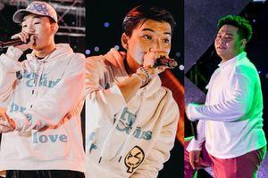 Biệt đội rapper từ 'Rap Việt' và 'King Of Rap' bất ngờ hội tụ trong cùng một sự kiện