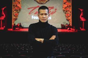 Đạo diễn Việt Tú công đức pho tượng đặc biệt ủng hộ đồng bào miền Trung