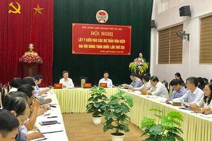 Hội Nông dân Hà Nội lấy ý kiến góp ý Dự thảo các văn kiện Đại hội XIII của Đảng
