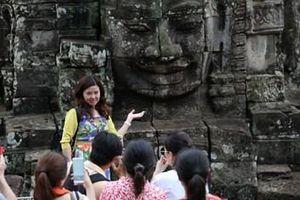 Ngành du lịch Campuchia lạc quan về tương lai
