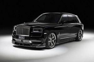 Rolls-Royce Cullinan Sports Line Black, bản độ cho những ông trùm