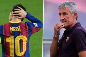HLV Setien thừa nhận khó quản lý Messi