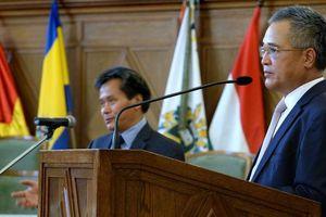 Kỷ niệm 70 năm thiết lập quan hệ ngoại giao Việt Nam-Hungary tại thành phố Debrecen, Hungary