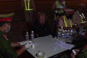 Sau 2 tháng lực lượng CSGT phát hiện gần 400 tài xế dương tính với ma túy