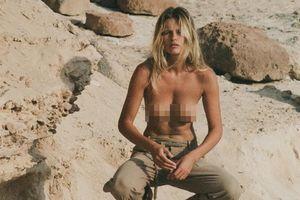 Edita Vilkeviciute chụp ngực trần nóng bỏng, đẹp như tạc tượng