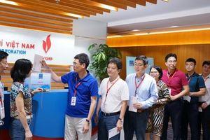 PV GAS tiếp tục ủng hộ miền Trung