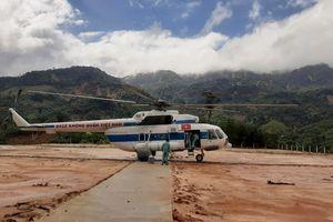 Lập cầu hàng không tiếp tế lương thực cho gần 3.000 người dân đang bị chia cắt ở Phước Sơn