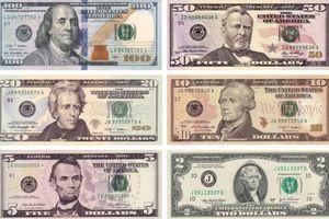 Chân dung của các nhân vật xuất hiện trên những tờ đô la Mỹ