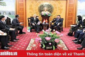 Phó Chủ tịch UBND tỉnh Thanh Hóa Nguyễn Văn Thi tiếp Đoàn công tác Đại sứ quán Indonesia tại Việt Nam