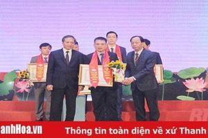 Tổng Giám đốc Tổ chức Tài chính vi mô Thanh Hóa nhận danh hiệu Doanh nhân tiêu biểu Thanh Hóa năm 2020