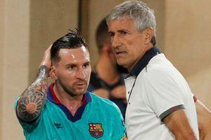Mâu thuẫn giữa Messi và cựu HLV Setien được tiết lộ