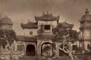 Ảnh chùa Báo Ân được chụp từ 100 năm trước