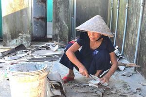 Người dân làng Bích họa Tam Thanh nỗ lực đứng dậy sau bão