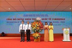 Xây dựng nhà trường theo hướng hội nhập quốc tế