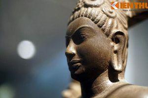 Kỳ lạ tượng Bồ tát 1.300 tuổi hình nam giới ở Trà Vinh