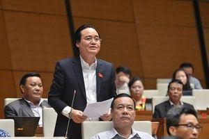 Bộ trưởng Bộ GD-ĐT giải trình nhiều vấn đề 'nóng' liên quan sách giáo khoa