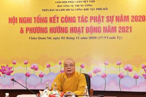 Phân ban Ni giới Trung ương khu vực phía Bắc tổng kết công tác Phật sự 2020