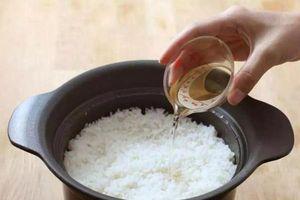 Nấu cơm bằng nước này sẽ rất tốt cho sức khỏe