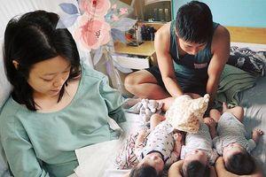 8X mang thai 200 triệu ca mới có 1, chồng chính là người đi bộ xuyên Việt với ví rỗng