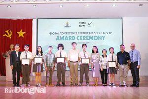 15 học sinh Đồng Nai nhận học bổng Việt Nam - New Zealand
