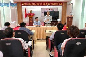 Bộ Y tế làm việc với Quảng Ngãi về công tác khắc phục hậu quả do bão số 9