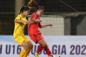 Đội dự tuyển Việt Nam vô địch sớm giải U16 Quốc gia