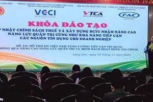 Lạng Sơn: Cập nhật chính sách thuế và đào tạo kỹ năng xây dựng báo cáo tài chính