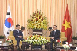 Bí thư TP.HCM Nguyễn Văn Nên tiếp Chủ tịch Quốc hội Hàn Quốc