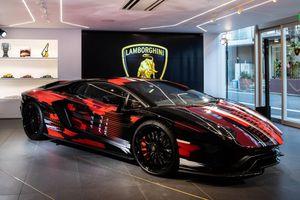 Lamborghini ra mắt Aventador S phiên bản độc nhất tại Nhật Bản