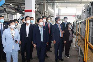 Chủ tịch Quốc hội Hàn Quốc Park Byeong-Seug thăm hai doanh nghiệp ở Đồng Nai