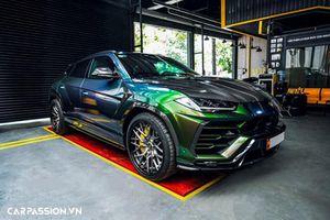 Lamborghini Urus hơn 20 tỷ tại Việt Nam 'độ chân' Velos Designwerks