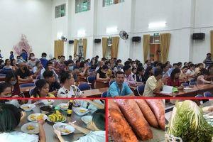 Đơn vị cung cấp suất ăn cho trường Trần Thị Bưởi: Chưa rõ nguồn gốc thực phẩm