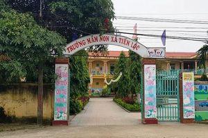 Thanh Hóa: Một trẻ mầm non bị bỏ quên trong nhà vệ sinh ở trường