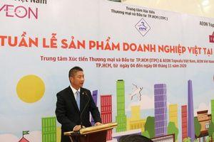 Năm thứ 3 liên tiếp AEON Việt Nam và IPTC hỗ trợ đưa sản phẩm Việt vào hệ thống bán lẻ toàn cầu